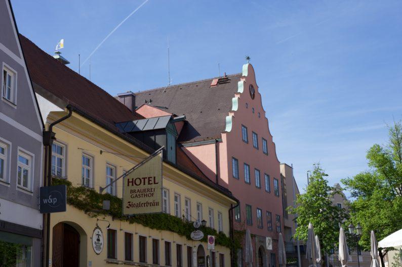 Zieglerbräu und Rathaus